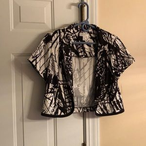 Jacket, short with short sleeves